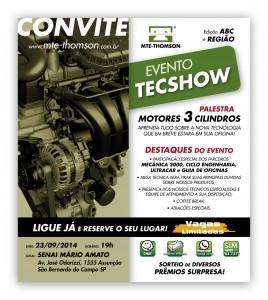 Convite TecShow 268x300 - Convite - Tec Show MTE-THOMSON