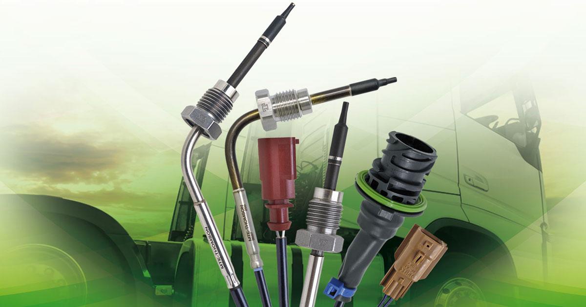 Novos sensores EGPS e EGTS para Linha Diesel