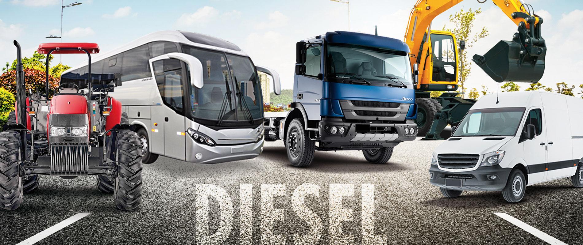 linha diesel