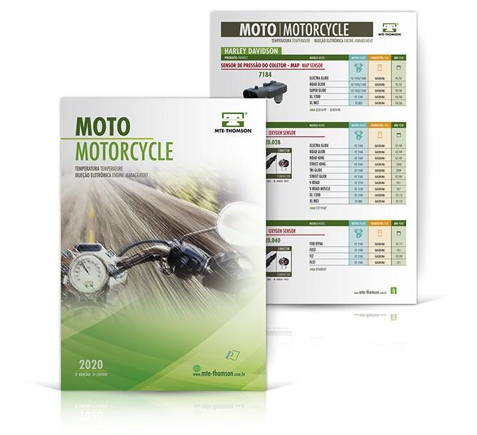 catálogo linha moto