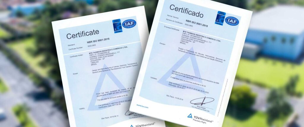 certificados iso2018