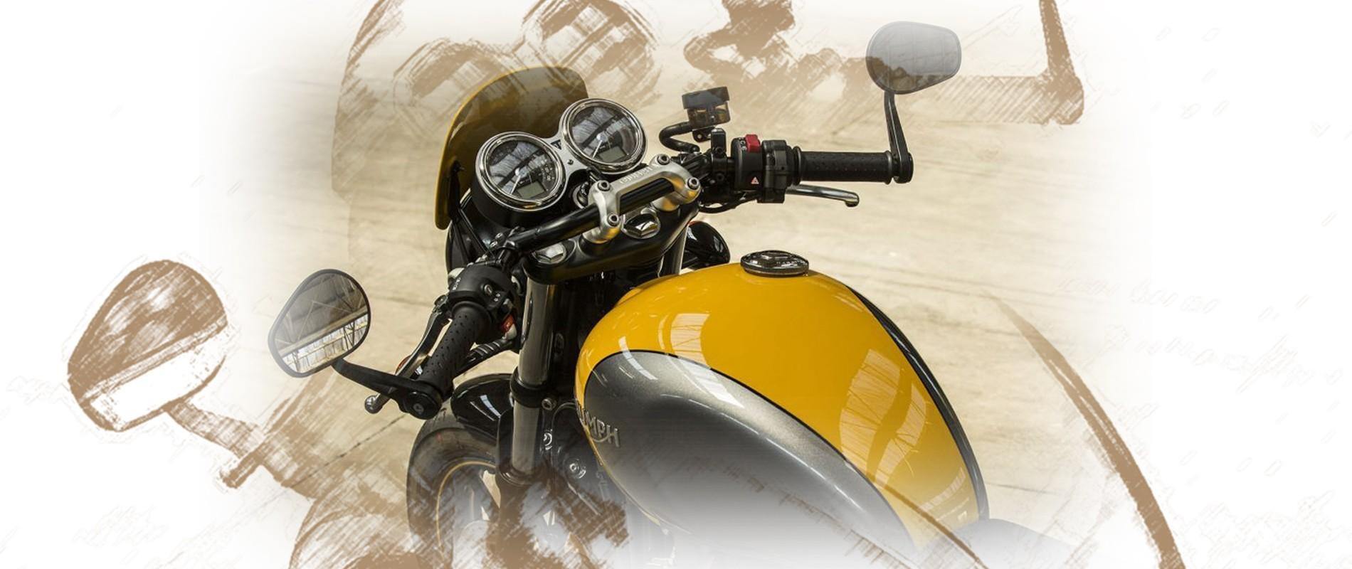 motor da moto parou