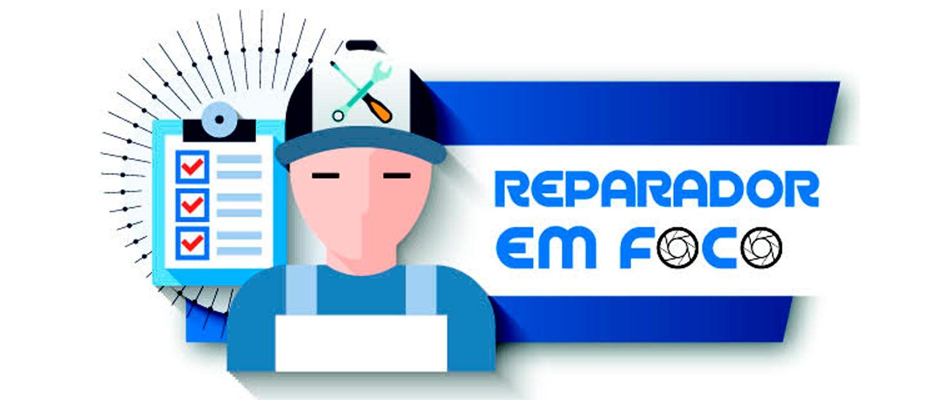 reparador em foco