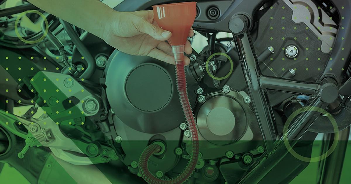 óleo do motor